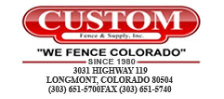 Custom Fence & Supply Inc. logo