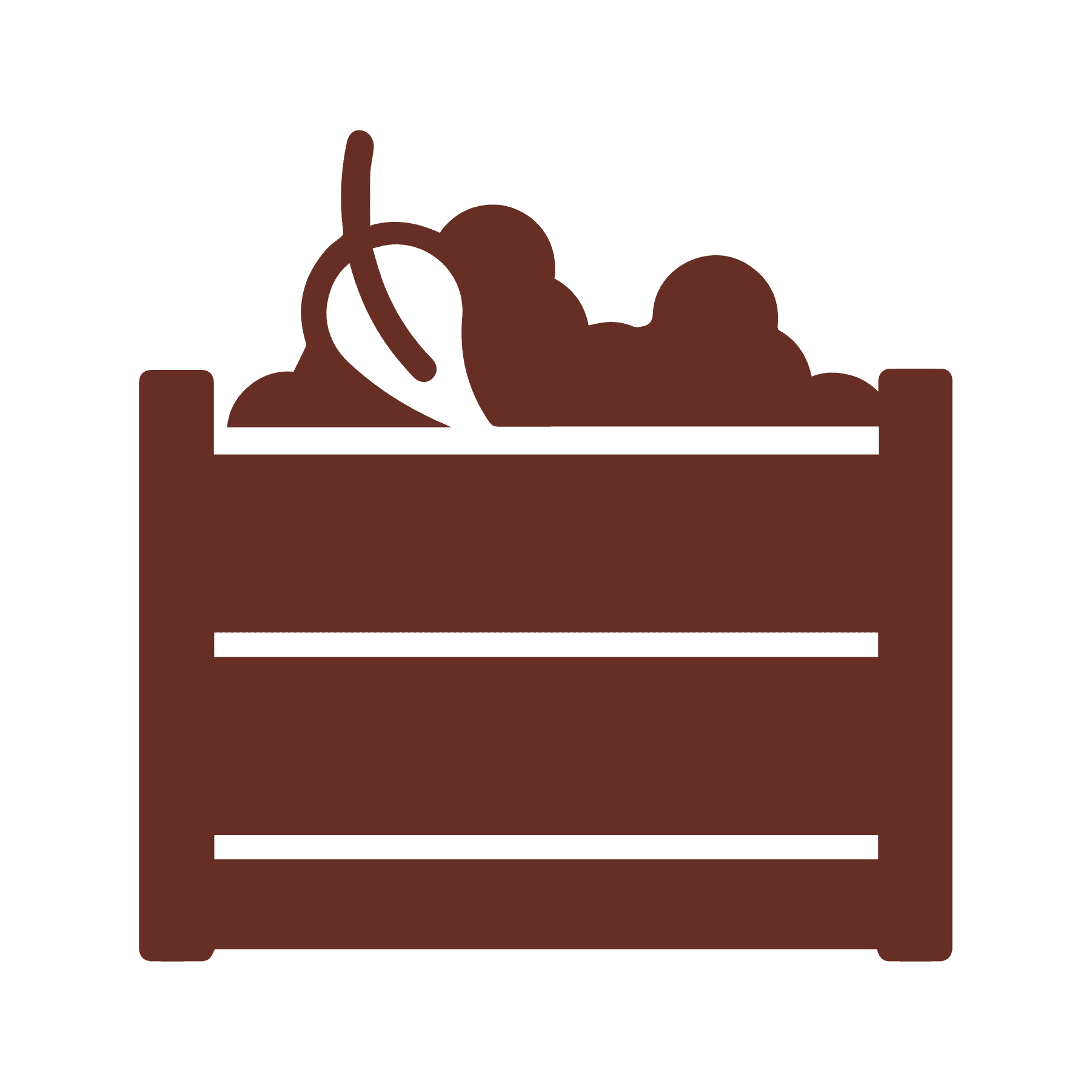 Compost pile icon