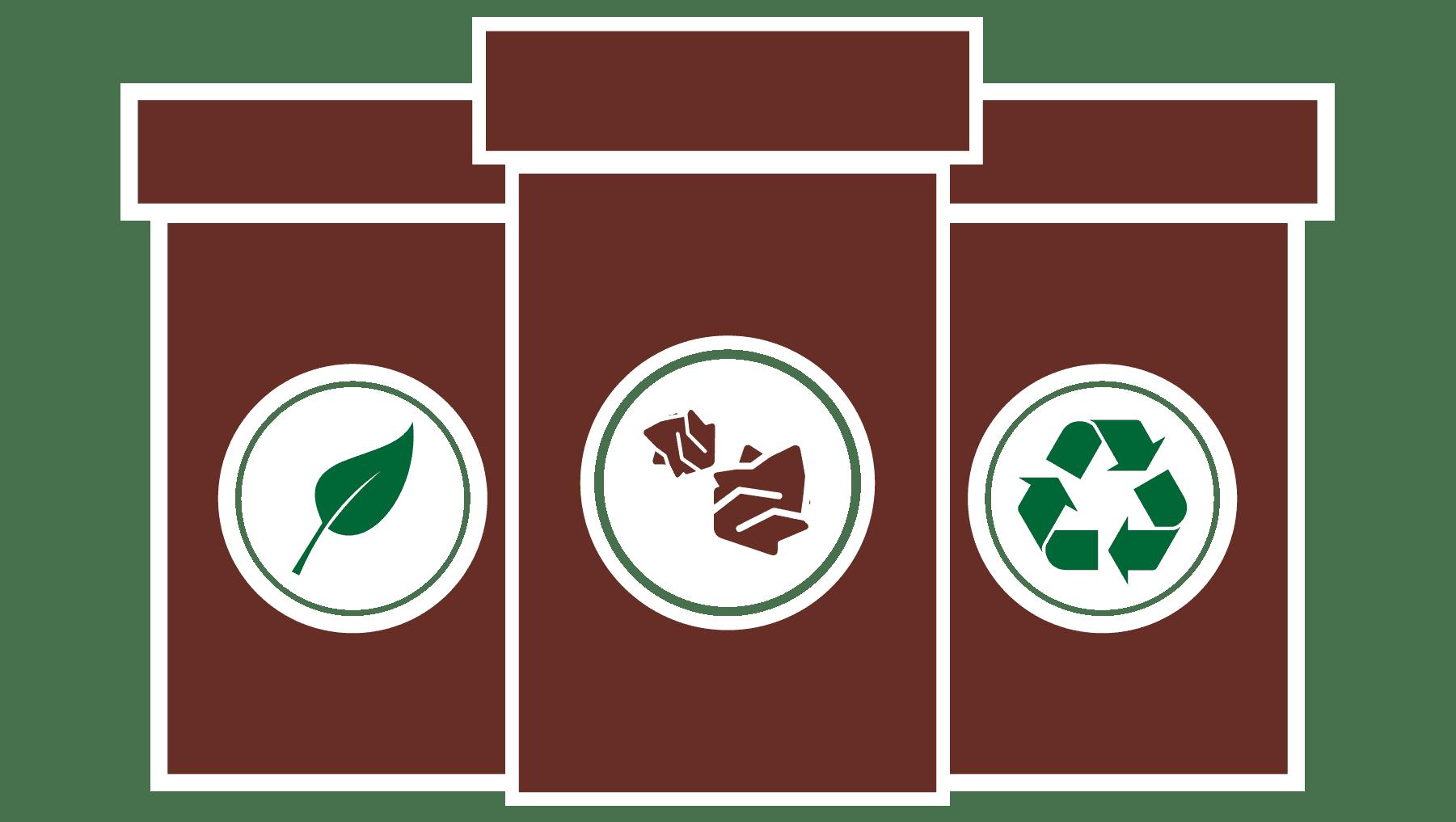 zero waste service icon
